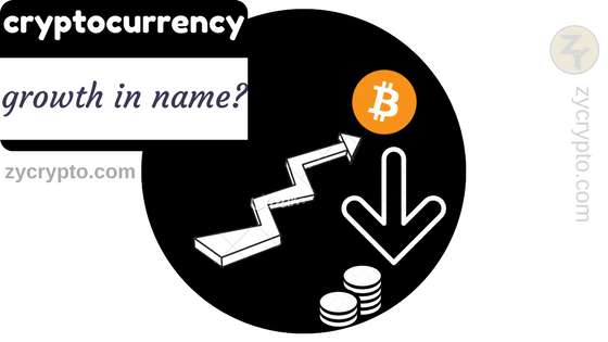 Does the name of a Cryptocurrency determine its growth ?