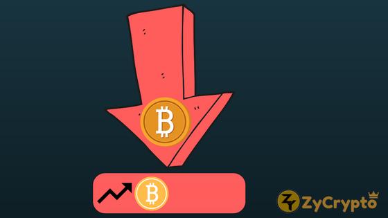bitcoin plummets down
