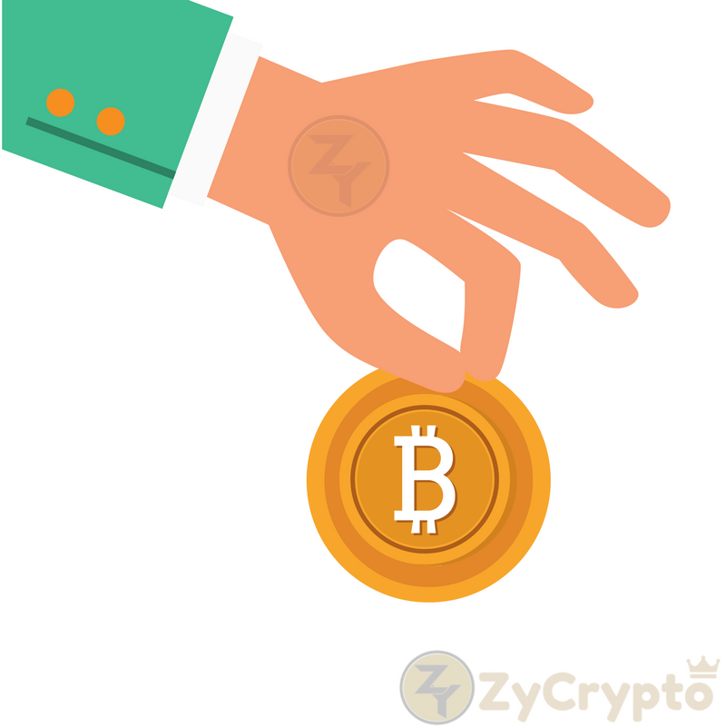 pine donates bitcoin to givedirectly charity