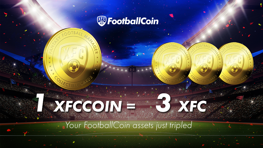 <bold>FootballCoin</bold> Creates its Blockchain; Early Supporters Profits to be Trippled