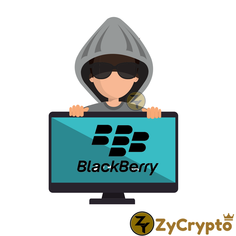 blackberry hackers monero mining