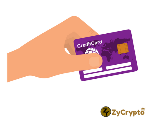 Get cryptocurrency with credit card