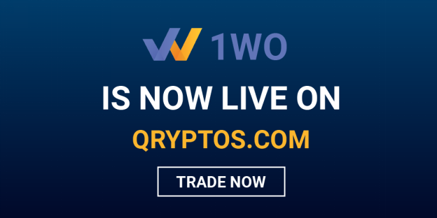 1World Blockchain Ecosystem for Publishers and Brands Gets OwnToken Listed on QRYPTOS Exchange