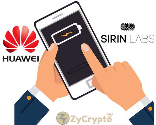 Huawei and Sirin Labs Might be Working on a blockchain-compatible Smartphone