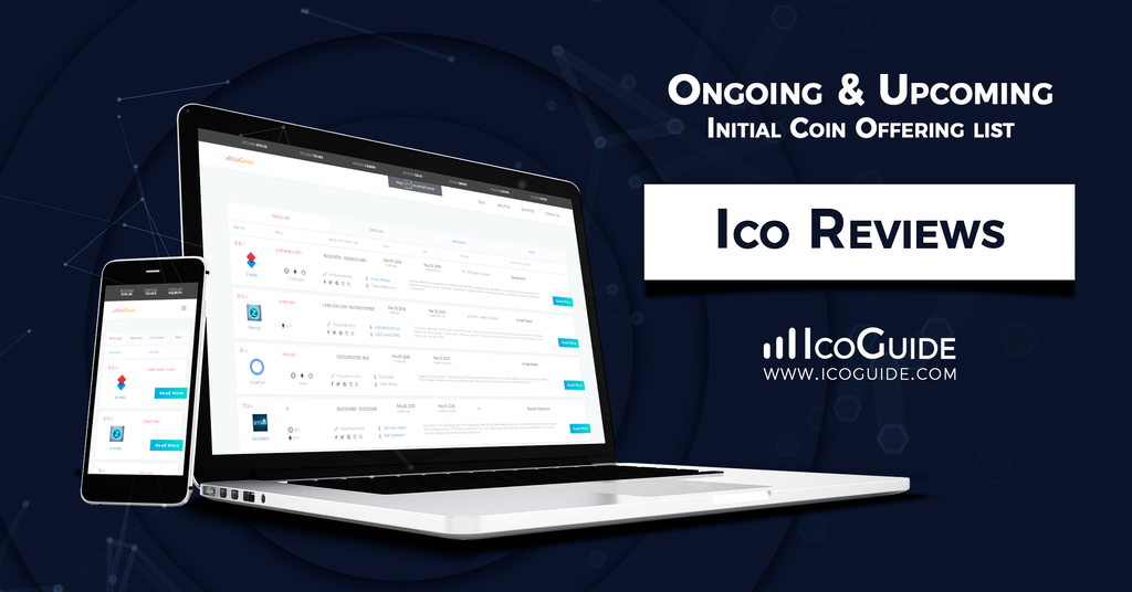 IcoGuide: The Number One Platform for Real-time, Unbiased Information on ICOS