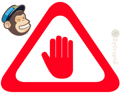 Following Facebook and Google, MailChimp blocks Cryptocurrency Ads