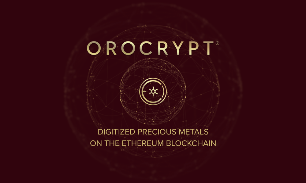 Orocrypt Blockchain Startup Launches its Gold-Backed OCG Tokens