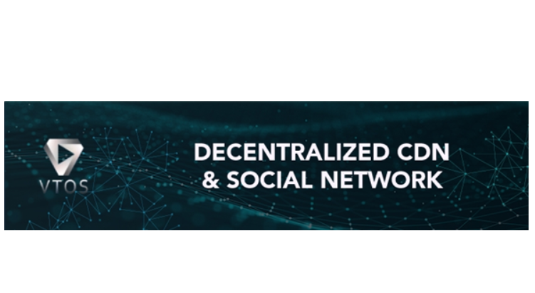 VTOS Blockchain-Powered Content Sharing Set to Launch Token Generation Event