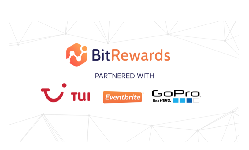 BitRewards Inks Strategic Partnership Deal with TUI, Eventbrite, and GoPro
