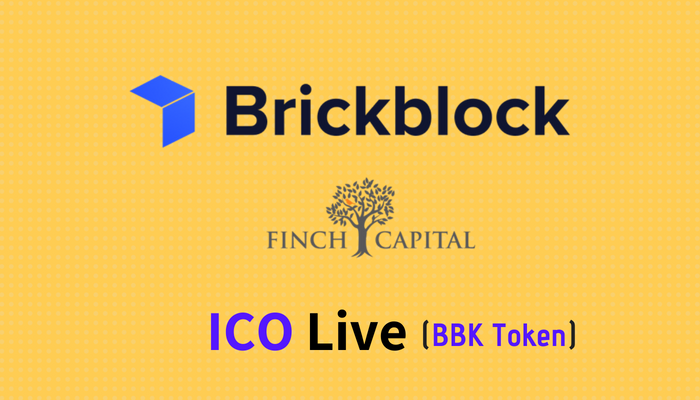 Brickblock ICO is Live and Raises €5M in Series A from Finch Capital