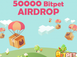Bitpet Blockchain-powered Crypto Game Airdrop 50000 Tokens