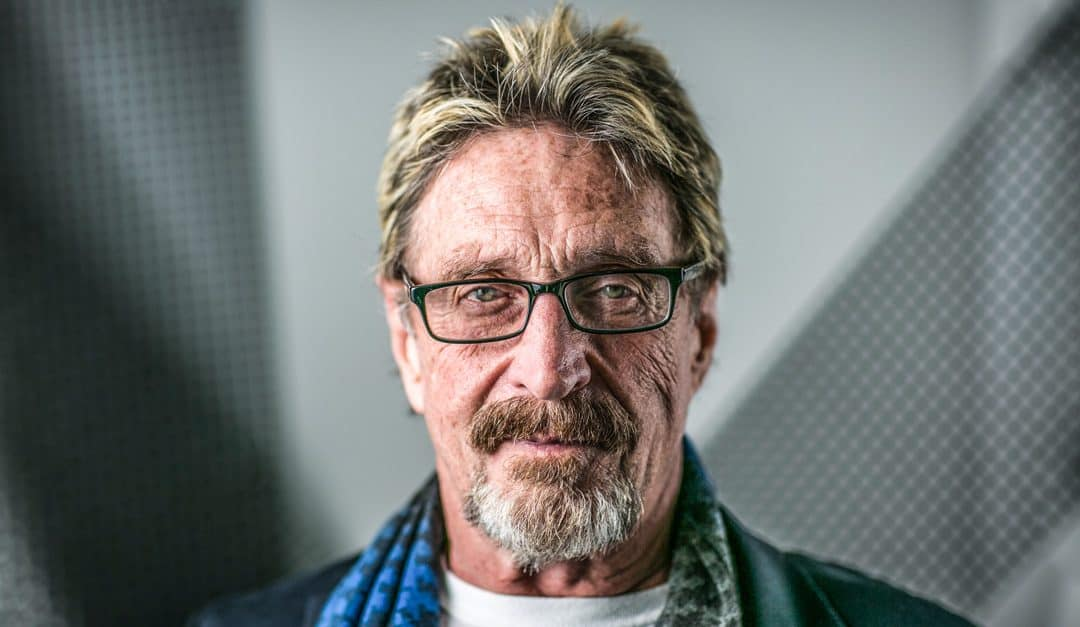 How Crypto wildcard John McAfee moves Markets