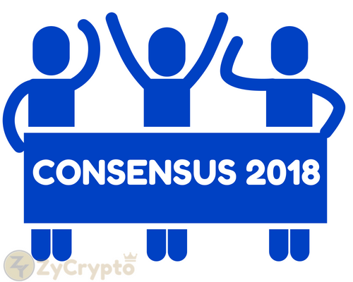 Parody Protest at Consensus Conference 2018