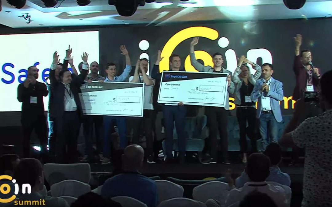 Safein Blockchain Project Wins $250,000 at iCoinSummit Conference in Cyprus