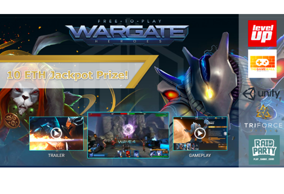 Triforce Set to Launch their Wargate Mobile Game Via the RaidParty Gateway