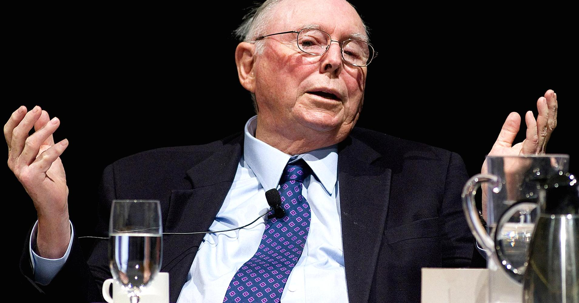 Charlie Munger: There's No Difference Between Trading Bitcoin and Harvested Baby Brains