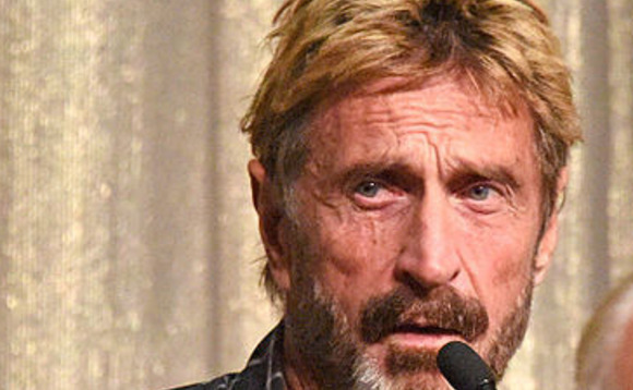 John McAfee invites millions to join his Currency Independence Movement