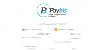 UK-Based Cryptocurrency Exchange Paybis Offering Users 50 Percent Bonus on High Volume Orders