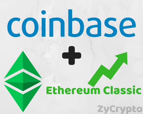 Coinbase Announcement Spurs A Frenzy In Ethereum Classic [ETC], Price On The Rise