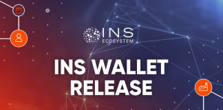 INS Blockchain Ecosystem Launches Highly Secure Cryptocurrency Wallet