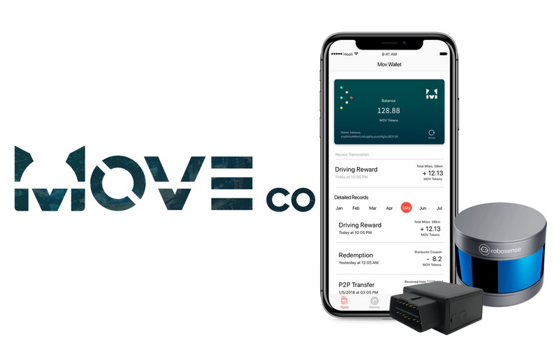 With the Moveco Blockchain System, Users can now Share their Mobility Data for Cryptos