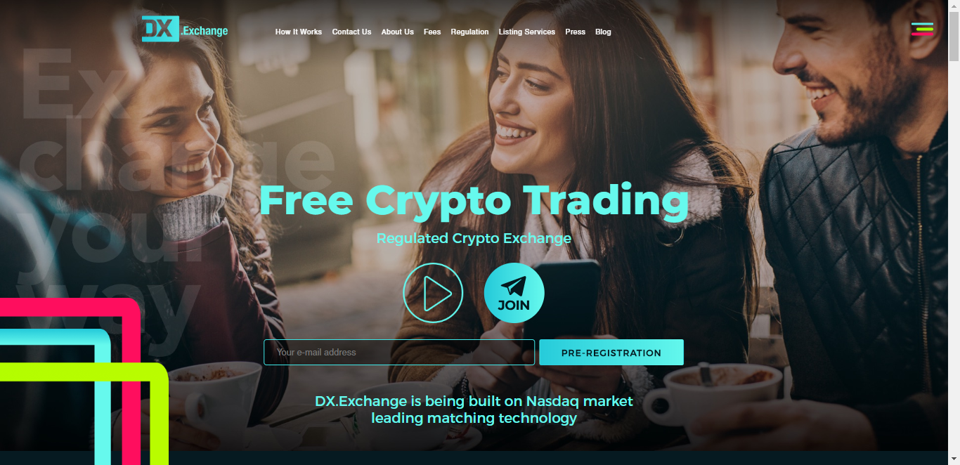 DX.Exchange Boasts Of 500k Registered Members Before Launch