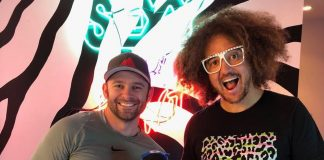 Redfoo hosted the #NEM Hollywood Developer Meetup