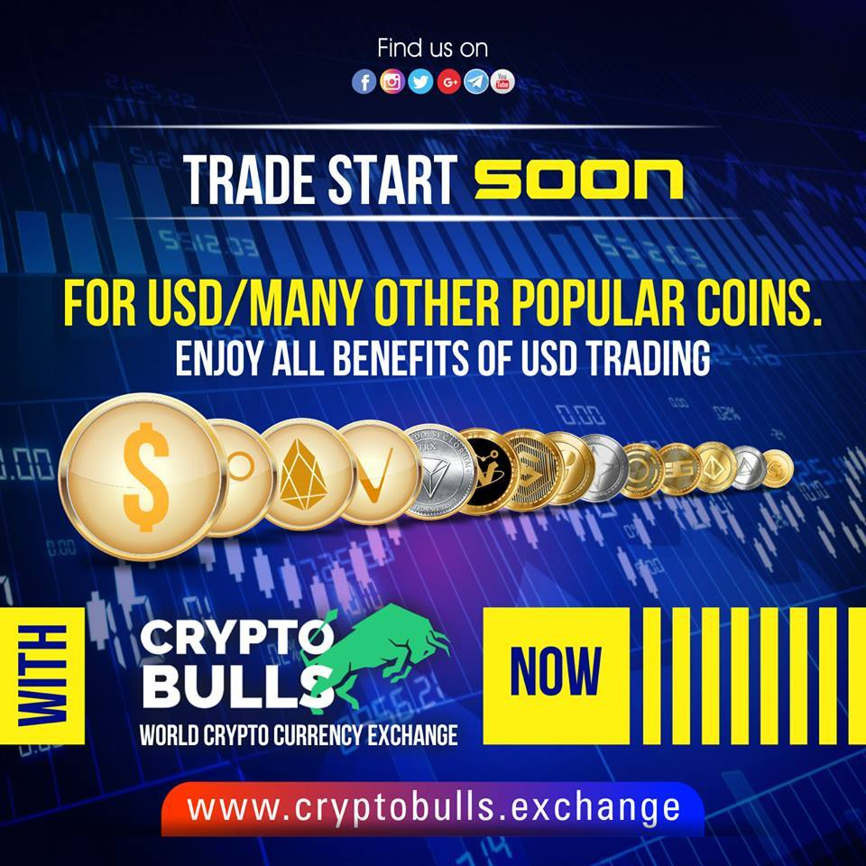 Cryptobulls Exchange: The exchange that pays for token holding