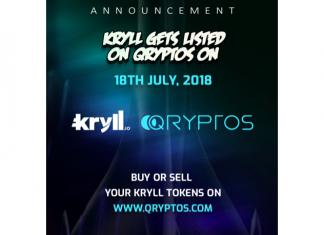 Kryll.io Cryptocurrency Trading Strategies Platform is now Live on QRYPTOS Exchange