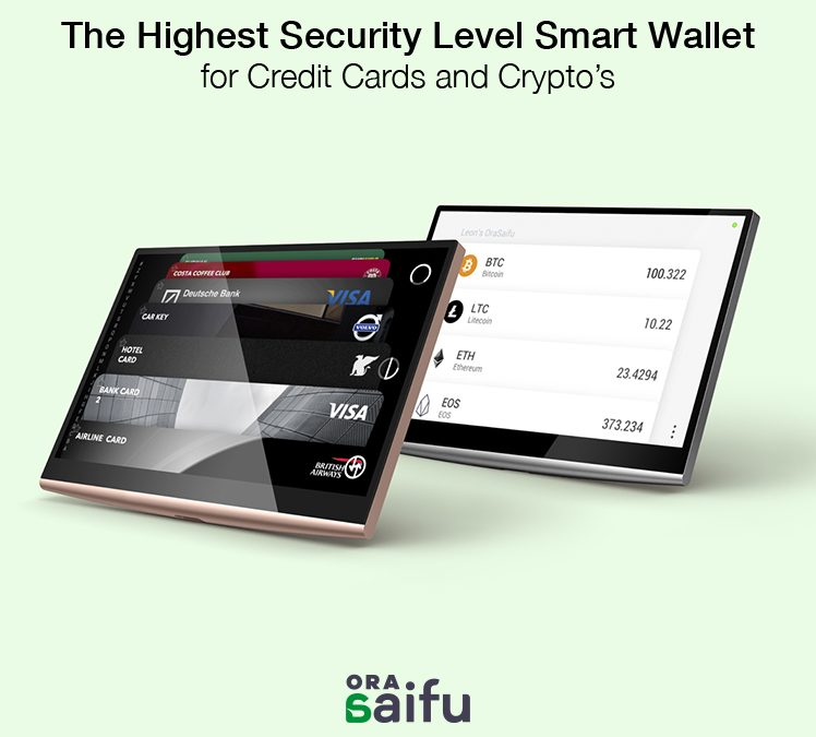 OraSaifu Launches Highly Secure Multi-cryptocurrency Hardware Wallet