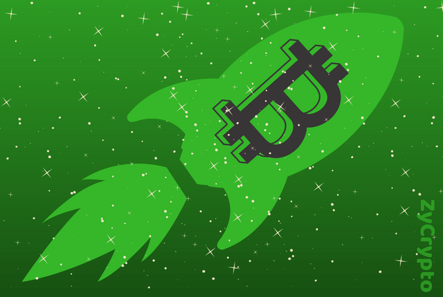The Land is Green : Bitcoin Punches Back From $6,200 To Hit $6,600