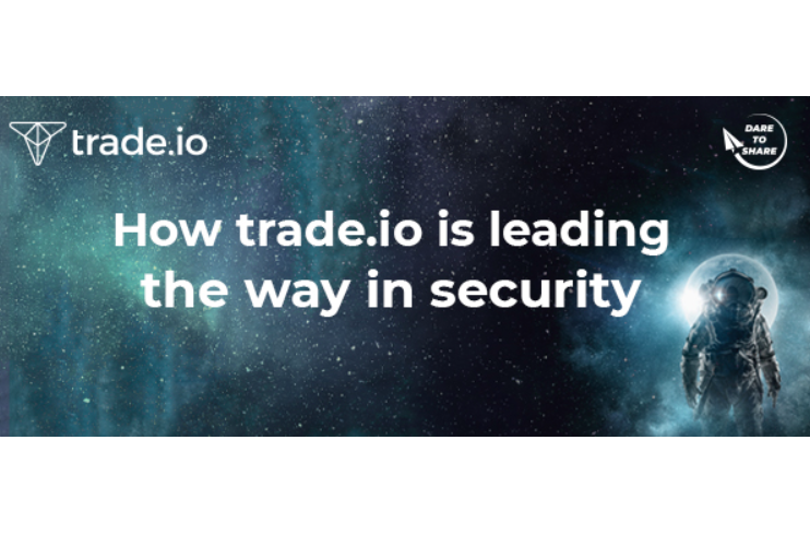 Trade.io Cryptocurrency Exchange Integrates State-of-the-Art Security Mechanisms into its Platform