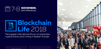 St. Petersburg is ready to host the second international forum - Blockchain Life 2018 -on November 7-8