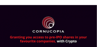 Cornucopia Blockchain-based IPO Investment Platform Gets New Chief Market Strategist
