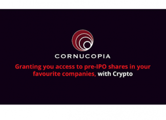 Cornucopia Blockchain-based IPO Investment Platform Gets New Chief Market Strategist
