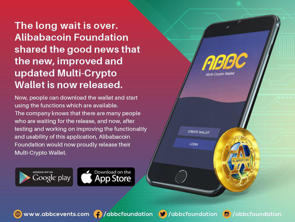 Alibabacoin Foundation Announces the Launch of Their Wallet