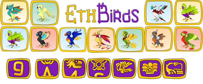 ETH Birds — first cryptogames multi-level reward system!