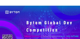 Bytom Blockchain Project Launches Global Competition with Colossal 2 Million BTM Token Reward