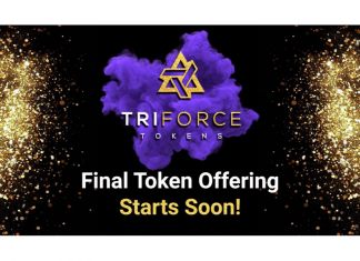 Gaming Blockchain Project, Triforce Tokens Gears Up For Final Token Sale