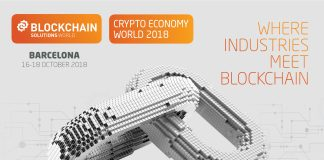 Second Annual Blockchain Solutions World Event, Crypto Economy World Holds On October 16-18