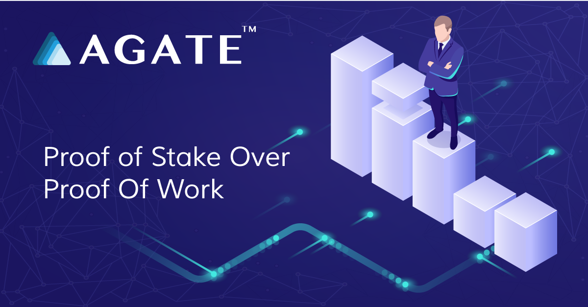 Proof of Stake Over Proof Of Work- Agate takes the environmental damage out of blockchain mining