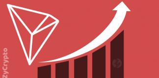 Tron (TRX) Still Gains Best Performer Among Top Altcoins
