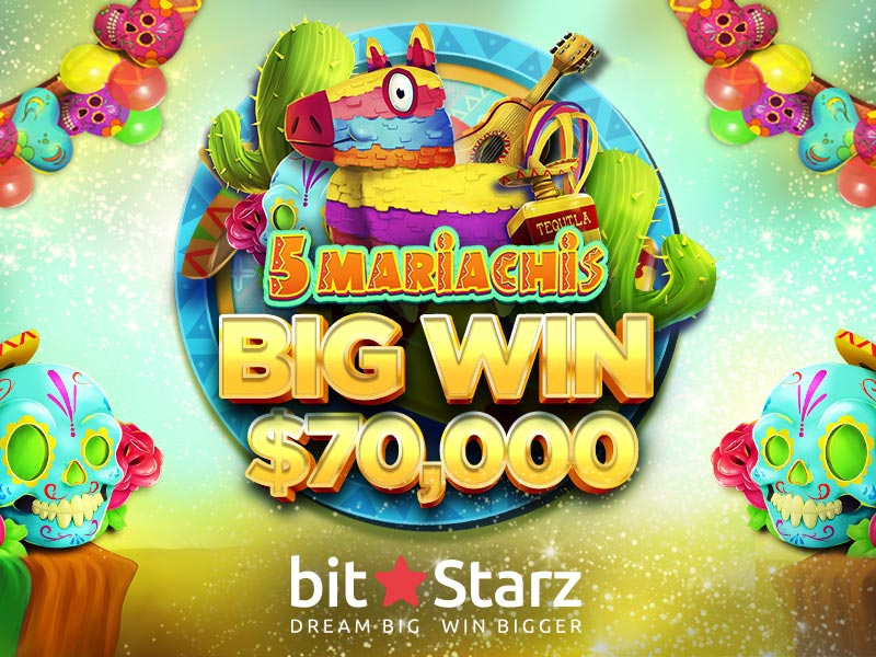 BitStarz player wins a whopping $70,000 – are you feeling lucky?