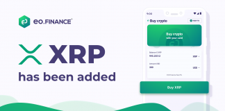 Ripple (XRP) is now available on EO.Finance