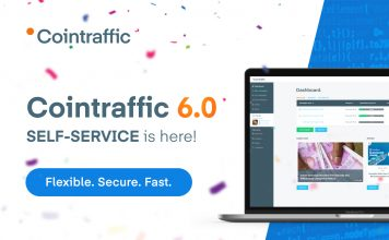 Cointraffic Revolutionises Crypto Advertising by Releasing Cointraffic 6.0 Update with Self-Service Feature