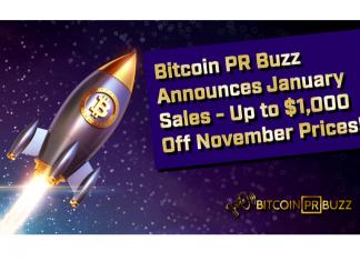 Blockchain PR Agency Bitcoin PR Buzz Announces January PR Sale with $200+ Discount