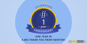 One Year In, a Big Thank You from Newton!