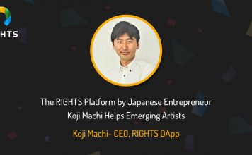 Here's How The RIGHTS Platform by Japanese Entrepreneur Koji Machi Helps Emerging Artists