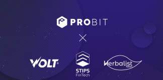 ProBit Exchange Lists VOLT (ACDC), STIPS AND HERB ~$130,000 Worth of Coins For ProBit Users!