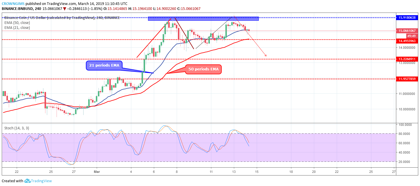 Binance Coin (BNB) Market Analysis: Currency Is Targeting $13 Price Level